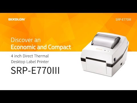 Discover an Economic and Compact and Label Printer, BIXOLON