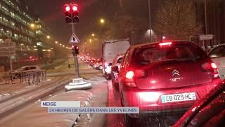 Neige : 24 heures de galère dans les Yvelines