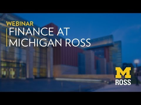 Full-Time MBA Careers: Finance | Michigan Ross