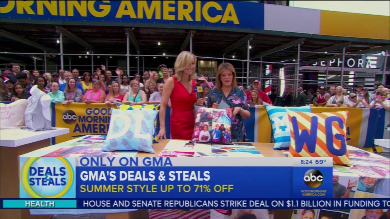 Good Morning America View Your Deal : Collage on quot good morning america deals and steals