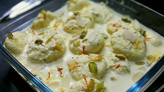 Rasmalai Recipe Video - Rasmalai Recipe video with Paneer/Cottage Cheese - Bengali Sweet dish