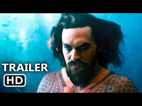 "JUSTICE LEAGUE ""Aquaman Underwater"" Trailer (2017) Jason Momoa, Movie HD"