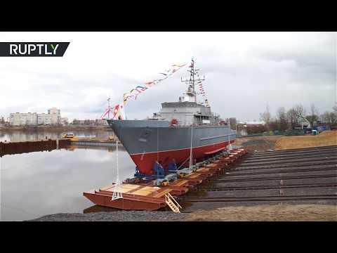 В Санкт-Петербурге спущен на воду корабль «Иван Антонов»