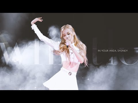 190615 BLACKPINK ROSÉ 로제 IN YOUR AREA Sydney 직캠 - 휘파람 Whistle