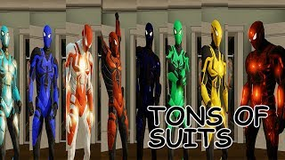 Tons of Spider-man Ends of the Earth - Over 15 Suits - The Amazing Spider-man 2 (PC)