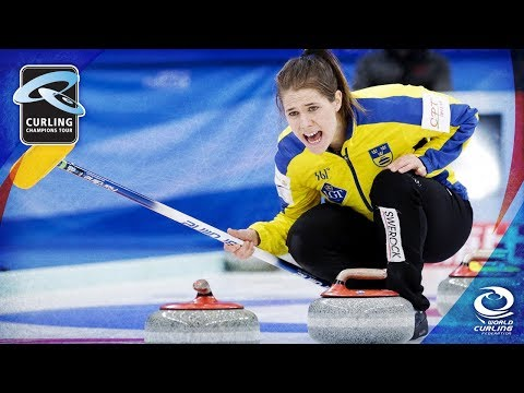 CCT: Hasselborg (SWE) v Kim (KOR) Semi-final - Stockholm Ladies Curling Cup 2017