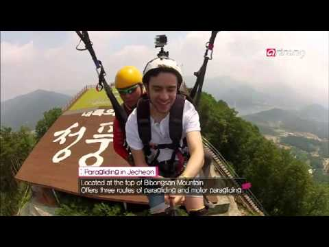 Jecheon paragliding experience (제천 패러글라이딩)