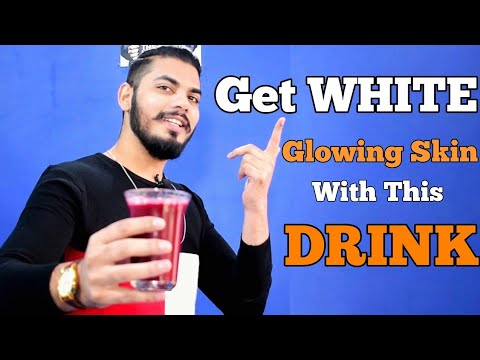 Skin Whitening Drink | Get Fair Skin With This Drink | Asad Ansari