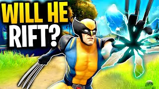What Happens When WOLVERINE Goes Through A RIFT? | Fortnite Mythbusters