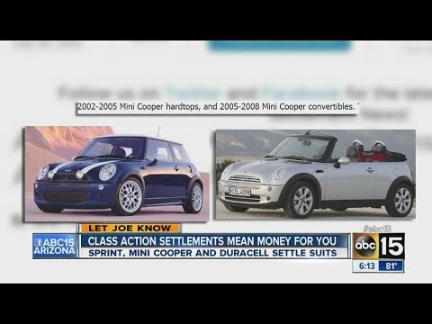 Class action settlement may mean money for you