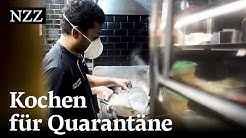 Angesagtes Restaurant in Singapur kocht für Gastarbeiter in Corona-Quarantäne