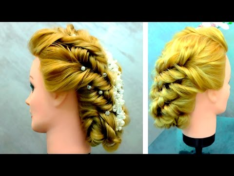 braided-hairstyle-with-elastic-bands/bridal-wedding-updo