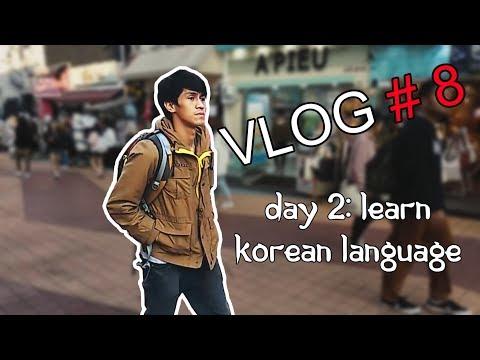 Vlog # 8 - Day 2: Learn Korean Language