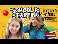 "Back to School Parody ""School is Starting"