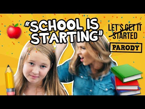 "Back to School Parody ""School is Starting"" 