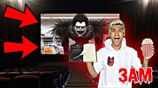 DO NOT WATCH DEATH NOTE MOVIE 3AM!! *OMG RYUK CAME TO MY HOUSE*