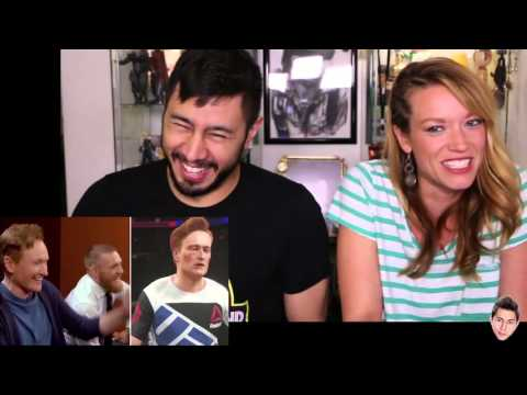 Conan: Clueless Gamer UFC 2 & Jaby's last fist fight!