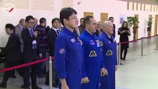 1-й день комплексных экзаменационных тренировок экипажей МКС-54/55