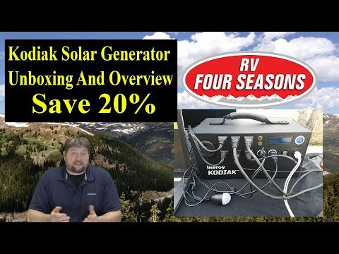 Kodiak Solar Generator Unboxing And Overview