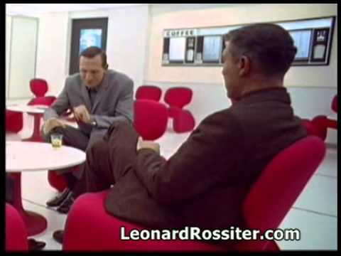 2001: A Space Odyssey - Leonard Rossiter's scenes