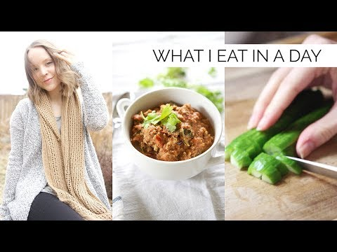 WHAT I EAT IN A DAY | healthy, gluten-free & paleo meal ideas