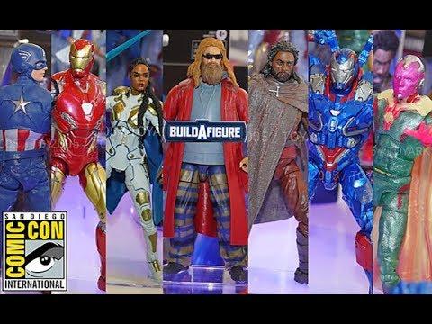 SDCC2019 Reveals/Thoughts: Marvel Legends Avengers Endgame (Valkyrie, Iron Patriot, Thor BAF)