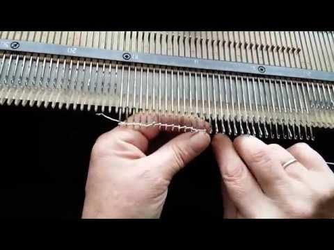 Уроки вязания на машинке нева 5 для начинающих видео