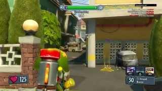 Plants vs. Zombies: Garden Warfare - Игровой процесс (Зомби) HD [1080p] (PS4)