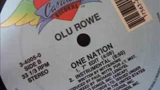 Olu Rowe - One Nation (Instrumental) - Cardiac Records
