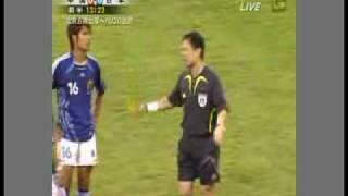 Soccer U-22 ( Japan vs China ) wrong referee 8/3