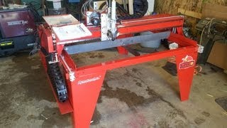 Cnc Plasma Table - Dynatorch Super B 4 X 4 First Look