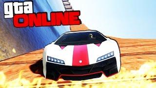 НОВЫЕ РАМПЫ В GTA 5 ONLINE (ГОНКИ)! #110
