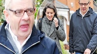 Rowan Atkinson Enjoys Romantic Walk With Girlfriend Louise Ford Pulling Funny FacesMy Slideshow