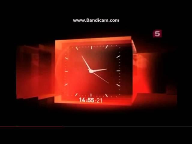 segundo fragmento de reloj quinto canal rusia 2010