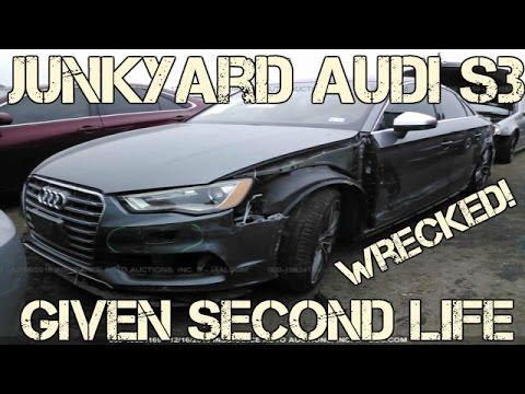 Salvage 2015 Audi S3 Rebuild Project BEGINS NOW