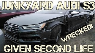 Salvage 2015 Audi S3 Rebuild Project BEGINS NOW