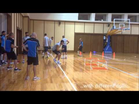 Video : Εθνική Ομάδα Ανδρών / Training Camp/Day 3