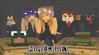 Minecraft  - TINY TURTLES AND LITTLE LIZARDS FUNERAL!!!