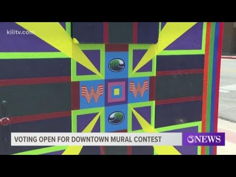 Corpus Christi Residents Asked To Vote On Next Downtown Electrical Box Paintings