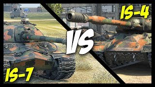 ► IS-7 vs IS-4, Which is The Best? - World of Tanks IS-4 & IS-7 Gameplay