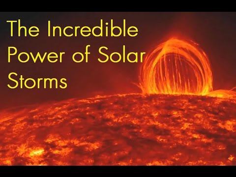 The Incredible Power of Solar Storms and their Frightening D