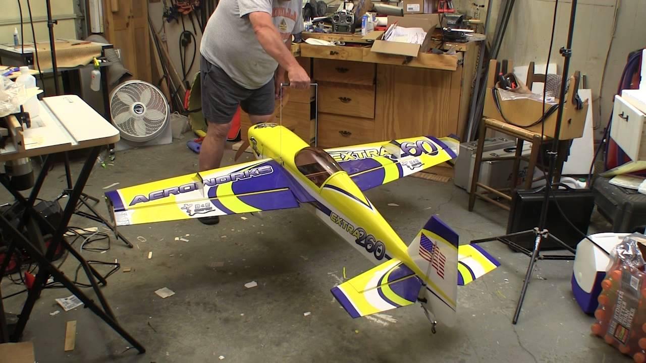 Aeroworks 30cc Freestyle Extra 260 QB L