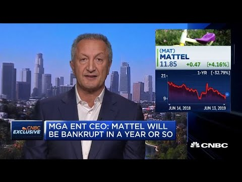MGA Entertainment CEO on failed merger bid with Mattel