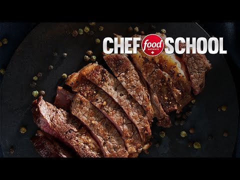 How To Cook The Perfect Ribeye Steak Without A Grill | Chef School