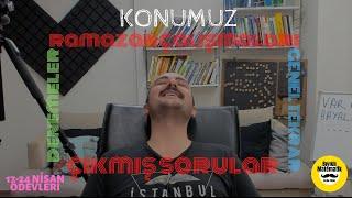RAMAZAN ÇALIŞMALARI - DENEMELER- ÇIKMIŞ SORULAR- GENEL TEKRAR- 17-24 NİSAN ÖDEVLERİ