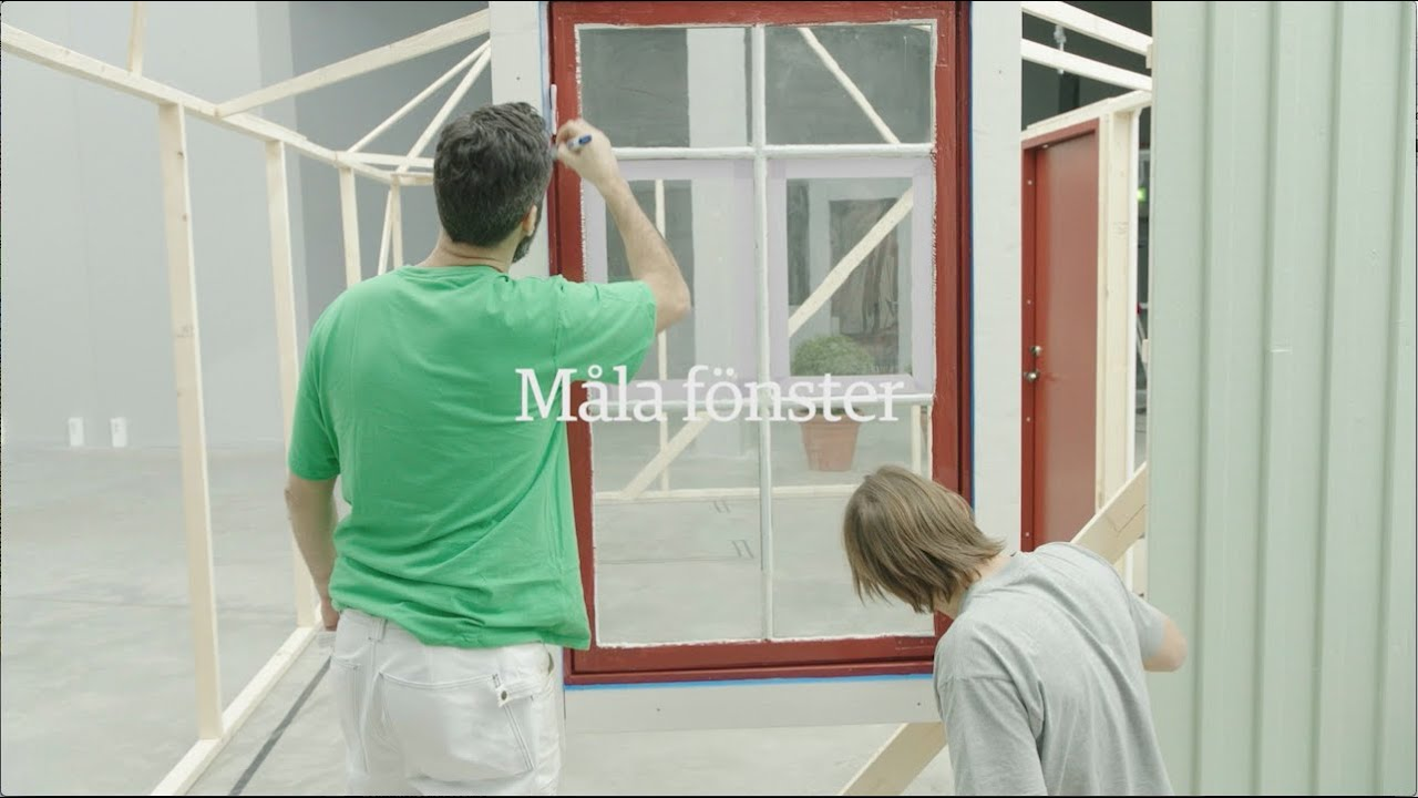 Måla fönster 15 sek - Beckers Färg - YouTube