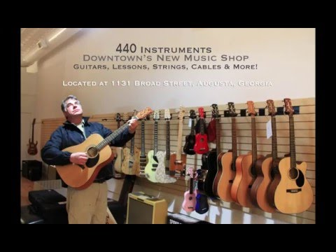 440 Instruments - Downtown Augusta's Music Shop