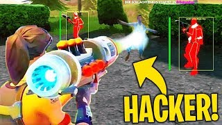 I found the HACKER more FORTE than FORTNITE... WATCH what FA! Fortnite Best Moments ITA