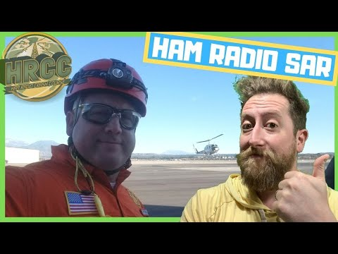 How They Use Ham Radio in Search And Rescue with Volunteer W6RIP! - Livestream