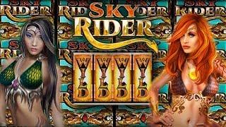Aristocrat - Sky Rider - Slot Machine Bonus